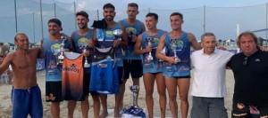 Facu Silva, de Serfay Tenerife, se vuelve a aupar a lo más alto en el Torneo de Futevolei de Italia