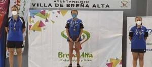 Amalia Triana, tricampeona de Canarias 2021