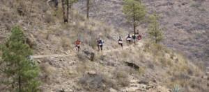 Los atletas Cristofer Clemente y Sandra Moreno vencen en la IV Acebuches Trail