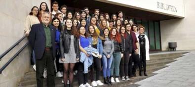 El ex rector José Gómez Soliño impartió su última clase como profesor de la Universidad de La Laguna