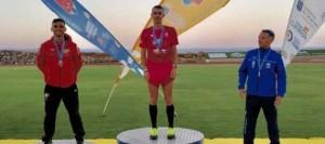 Gerardo Domínguez suma dos medallas en el Campeonato de Canarias de pista al aire libre