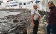 La Concejalía de Playas revisa el estado de las infraestructuras y luminarias de Tufia