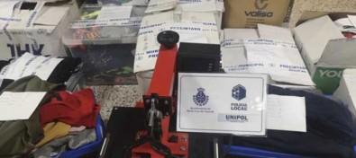 Detectado material y falsificaciones textiles por valor de unos 40.000 euros