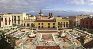 La Orotava celebra la Infraoctava del Corpus con la confección de tapices florales en las calles del casco histórico