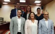 Allende muestra su apoyo a los jóvenes empresarios