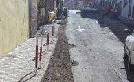 Este miércoles se asfalta la calle Los Beltranes de Toscal Longuera tras mejorar su red de canalizaciones