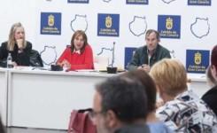 El Cabildo y los ayuntamientos analizan el reto de incorporar obligatoriamente el contenedor de materia orgánica en los próximos años