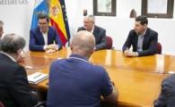 Pablo Rodríguez destaca la importancia del sector pesquero en la instalación portuaria del Castillo del Romeral