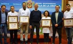 Tasca Venta El Gomero y Momentos Teté, ganadores del Concurso-Ruta Gastronómica Saborea La Orotava 2018