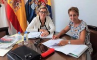 Toma de contacto entre las alcaldesas del sur de Gran Canaria