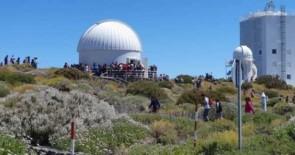 Cerca de 2.000 personas visitaron el Observatorio del Teide en las Jornadas de Puertas Abiertas 2019