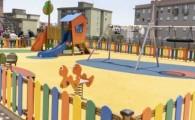 El Ayuntamiento de Santa Cruz reforma la plaza de Santa Clara y la dota de un parque infantil y zona de calistenia