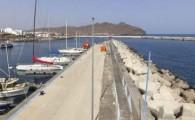 Puertos Canarios inicia la próxima semana las obras de restitución del pavimento del contradique del puerto de Gran Tarajal
