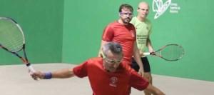 El Territorial de Olímpica 20/21 de frontenis arranca en las instalaciones del Círculo