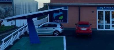 El Ayuntamiento de Puntagorda pone en marcha la primera marquesina fotovoltaica de La Palma para la recarga de vehículos eléctricos