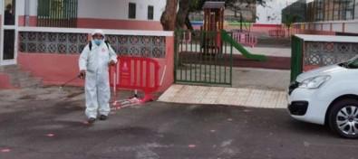 El Ayuntamiento de Guía de Isora refuerza la desinfección y dota de más material sanitario a los centros educativos