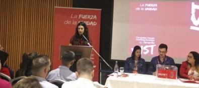 Yolanda Mendoza, nueva secretaria general de Juventudes Socialistas de Tenerife