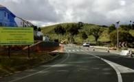 El acondicionamiento de la carretera de Teror obliga al cierre entre semana desde el lunes 28 de enero salvo para residentes y propietarios