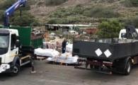 Cabildo de El Hierro lleva a cabo una campaña de retirada de amianto del ámbito insular con destino a un gestor autorizado