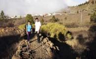 El Alcalde comprueba in situ la recuperación del sendero de Las Tierras en Arguayo