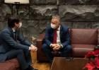 El presidente y la consejera de Economía mantienen un primer contacto con el recién nombrado presidente de la ZEC
