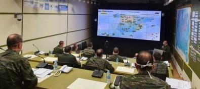 El Teniente General Jefe del Mando de Canarias ejerce de Comandante del Mando Componente Terrestre de la operación de las Fuerzas Armadas contra el COVID 19