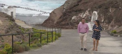 El Ayuntamiento de Santa María de Guía levantó la prohibición del baño en las piscinas naturales de Roque Prieto