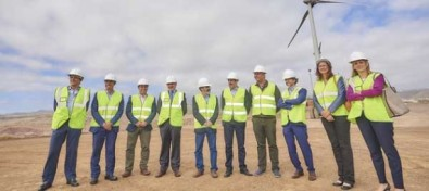 El Cabildo y el Gobierno de Canarias invierten 24,2 millones de euros en el Parque Eólico del Complejo Medioambiental de Arico