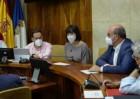 La ministra Diana Morant se compromete a financiar los proyectos de investigación en marcha en torno al volcán