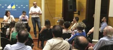 Luis Suárez, nuevo secretario general de Coalición Canaria de Las Palmas de Gran Canaria