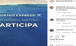 """Los profesionales sanitarios ganadores del sorteo """"Entra en fase tranquilidad"""" disfrutarán de unas vacaciones en Canarias desde mañana"""