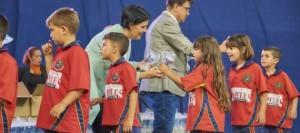 El Comité de Fútbol 8 de la FTF realiza la entrega de premios a los benjamines y prebenjamines