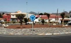 El Cabildo mejora el entorno de la carretera general del Sur entre Tíncer y El Chorrillo