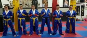El kickboxing de Granadilla de Abona se trae un oro y tres platas del Campeonato de España